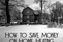 Energy Efficient & Green Home Ideas / Energy efficiency, green home ideas, save money