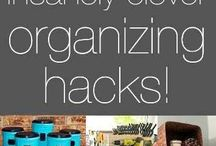 Getting organised / Cool ways to get yourself organised both at home and at school. Handy tips for PTA and PTO stock cupboards!