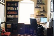 Office / My office in my new home / by Melissa L