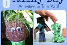 Parent ideas for entertaining kids at home / Fun stuff to keep the kids entertained! Activities, craft, games etc