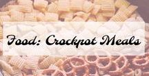 Food: Crockpot Meals / My Favorite Crockpot meals