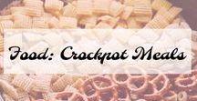 Food: Crockpot Meals / My Favorite Crockpot meals