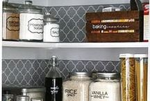Pantry / Interior design and decorating ideas for a kitchen pantry cupboard