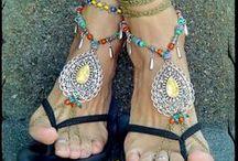 Barefoot sandals / So pretty / by Marti Reid