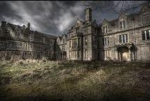 Abandoned-Asylums, sanitariums, mental hospitals / Sad and creepy  / by Marti Reid