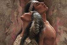 Art-Native American  / Native American Art / by Marti Reid
