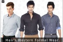 Men's western formal wear / Be it work or play, turn up your charm with a host of dapper ensembles.