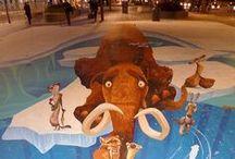 Art-3D Street Art / So cool / by Marti Reid
