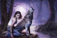 Books-Patricia Briggs-Alpha & Omega / Alpha and Omega Raven Duology Hurog Duology / by Marti Reid