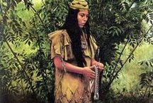 Art-Mort Kunśtler  / Love his Native American Art. I have several.  / by Marti Reid