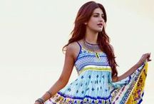 Haute Curry Spring Summer 2014 collection / The gorgeous Shruti Hassan presents the 'Haute Curry' Spring Summer 2014 Collection by Shoppers Stop. Check it out http://bit.ly/ShrutiH1