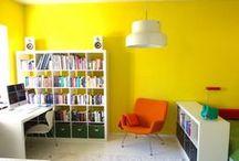 Colorful decorations / Väriä sisustukseen / Interesting home deco with some color from Oikotie Asunnot / Kiinnostavia, värikkäistä sisustuksia Oikotie Asunnoista