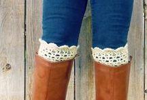 Crochet patterns bootcuffs & legwarmers