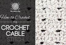Crochet patterns stitches & diagrams