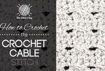 Crochet patterns stitches & diagrams