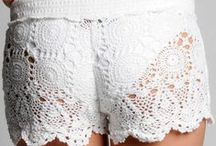 Crochet patterns shorts & pants