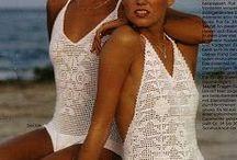 Crochet patterns bikini, bra & swimsuits