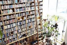 Book Worm / Read more books. I love to be surrendered by books in my home. Here are some inspiration for some amazing built in bookshelves.