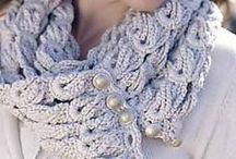 Crochet patterns cowls & infinity scarves