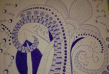 GewooN-MooN's Drawings & Zentangle