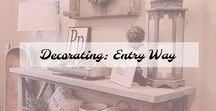 Decorating: Entry way / Decorating: Your Entry Way Decor