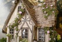 Storybook Cottage Homes / Interior design and decorating ideas for storybook cottages