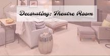 Decorating: Theater Room / Theater Room Decor