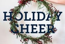 holiday cheer / It's never too early to start planning for all of those holiday festivities!