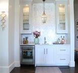 Wet Bar / Interior design and decorating ideas for a wet bar