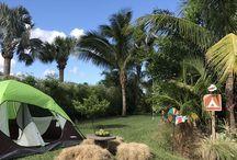 Kids camping theme birthday