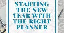 Planning / #happyplanner #planning #journal