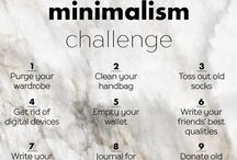 Minimalism / Tips for living minimalist lifestyle