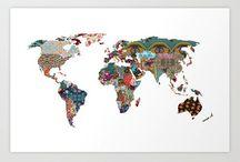 Worldwide Wanderlust / A journey of a thousand miles begins with a single step... / by Malia Yoshioka