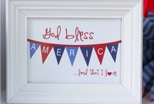 Holiday: Ameripalooza /  Hooray for the USA / by Jandi Eline