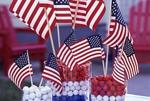 I LOVE Red, White, and Blue / by Vicki Mace
