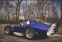 Blue Oval Fever / I grew up riding around in a '65 Mustang 2+2 and a '72 Ford Chateau Club Wagon Van, and have almost always owned at least one Falcon/Comet/Mustang at any given time. My blood runs Ford Blue. / by T J