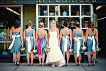 Bridesmaids Dresses / by Brittany Zinser