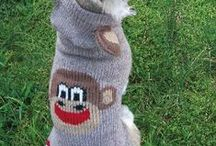 Sweaters and Boots for your Pup / Sweaters to keep your dog warm and cozy Boots to protect your dog's feet from snow, ice and salt / by Hounds Around Town