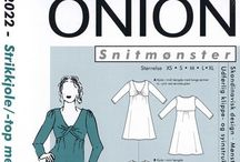Onion tutorials / sewing tutorials from Onion