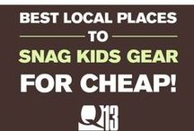 Buy, Sell, Swap USED Goods / Local ways to score a deal on used kids gear. / by Q13 FOX News Seattle