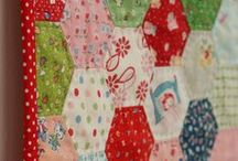 Quilter Projects - Tiny Hand Stitches / inspiring appliqué and EPP quilt designs