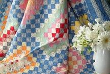 Quilts - Vintage / Timeless and classic quilt inspiration