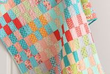Quilts - Scrappy / Colourful quilt creations made from leftover fabric pieces