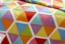Quilts - Solid Fabric / Quilts made from solid coloured fabric