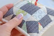 Quilter Projects - Pincushions / Cute and functional pincushions