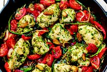 One-Pan Meals / Grab one pan and get cooking! These easy clean up, quick meals are family-friendly and fast, helping you get dinner on the table in no time.