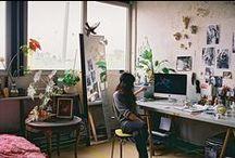 studio // office / by Shanna Albrecht