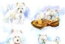 Doggies - Fine Art Cards