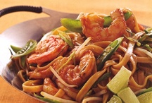 Shrimp Pad Thai / by Rocco DiSpirito