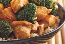 Ginger Sweet Chicken and Broccoli Stir-Fry / by Rocco DiSpirito